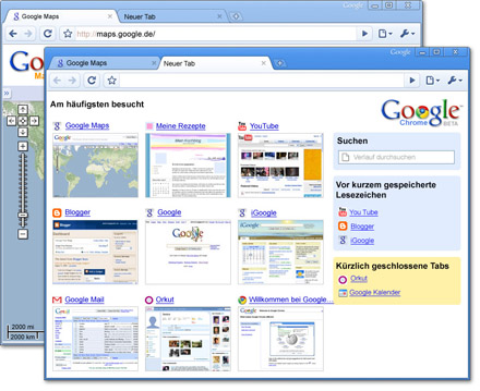 Google Chrome 33.0 Screenshot
