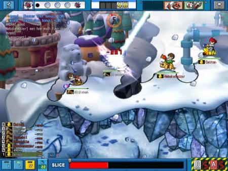 GunBound Screenshot