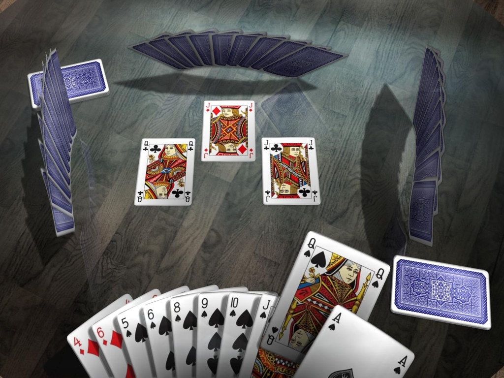 Hearts - The Royal Club Screenshot