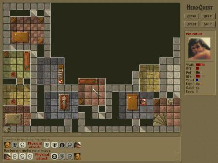 HeroQuest Screenshot