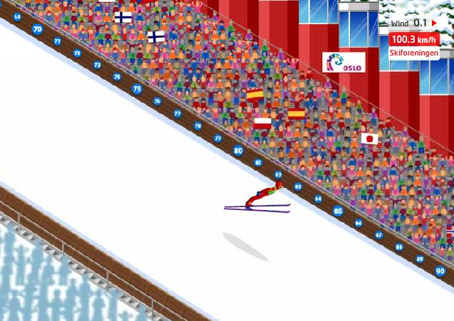 HolmenKollen Ski Jump 1.0 Screenshot