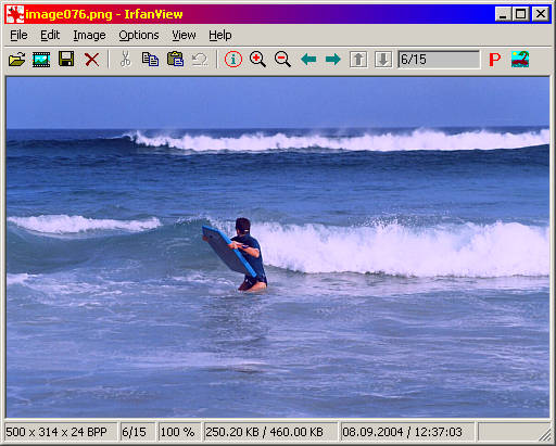 IrfanView 4.44 Screenshot
