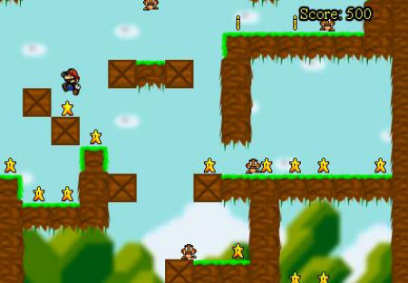 Jump Mario 1.0 Screenshot