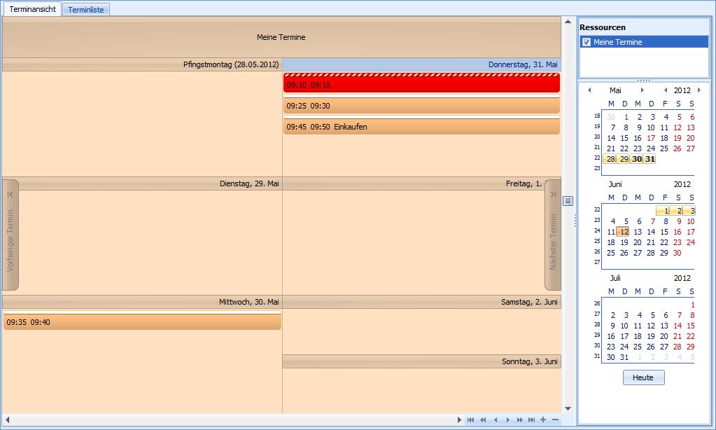 1-2-3 Kalender Freeware 1.00 Screenshot