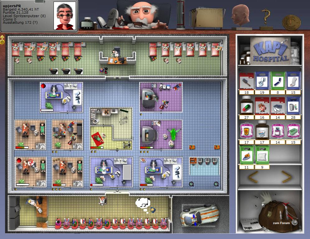 Kapi Hospital 1.0 Screenshot