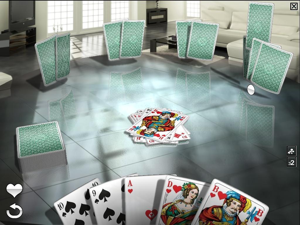 Mau Mau - The Royal Club Screenshot