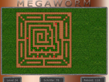 Megaworm 1.00 Screenshot
