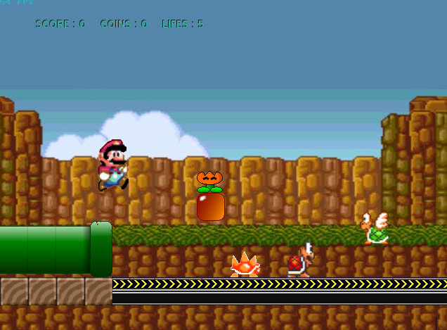 Mega Mario 1.7 Screenshot