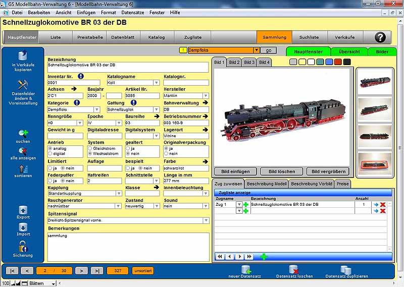 Gs Modellbahn Verwaltung Download Shareware Auf Deutsch Für Windows