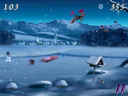 Moorhuhn Winter-Edition Screenshot