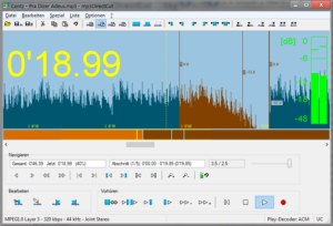 mp3DirectCut 2.20 Screenshot