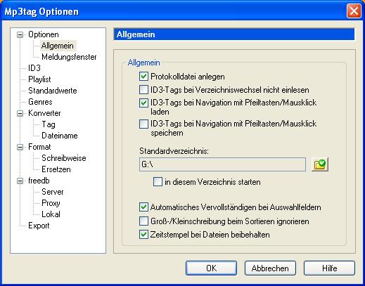 MP3Tag Screenshot