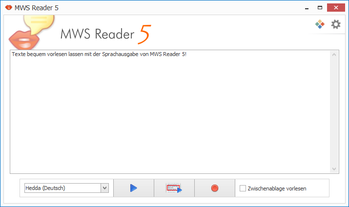 MWS Reader 5 Screenshot