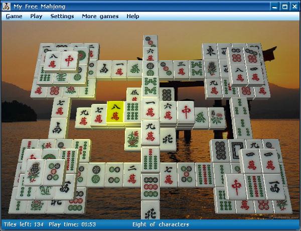 Amazing Mahjongg 3D 2.0 Screenshot