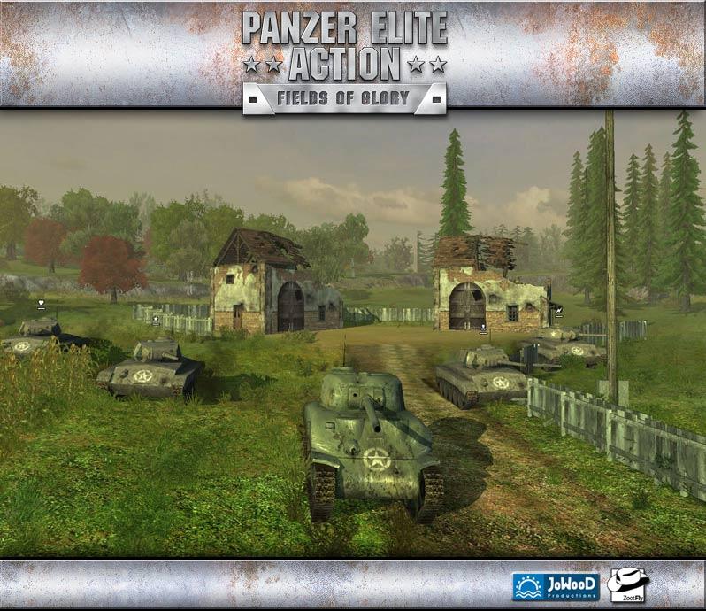 Panzer Elite Action: Dunes of War 1.0 Screenshot