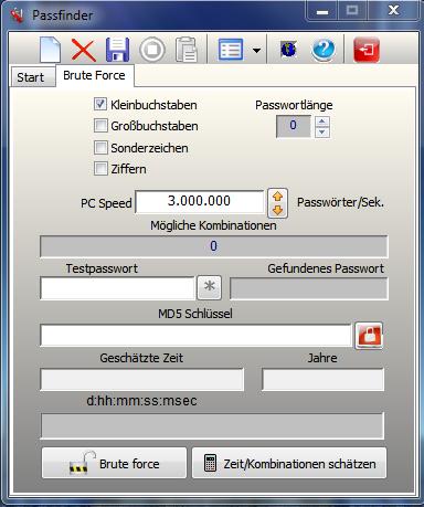 Passfinder Screenshot