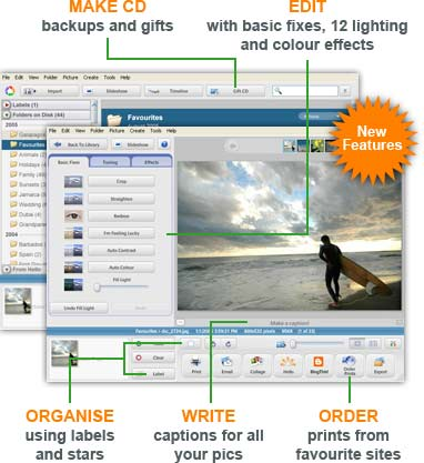 Picasa 3.9 Screenshot