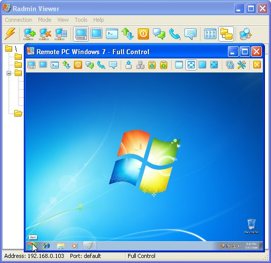 Radmin 3.5.1 Screenshot
