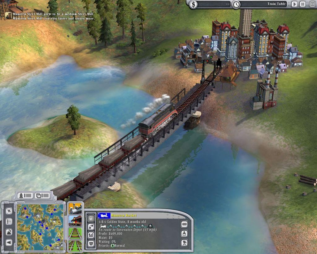 Sid Meier's Railroads 1.0 Screenshot