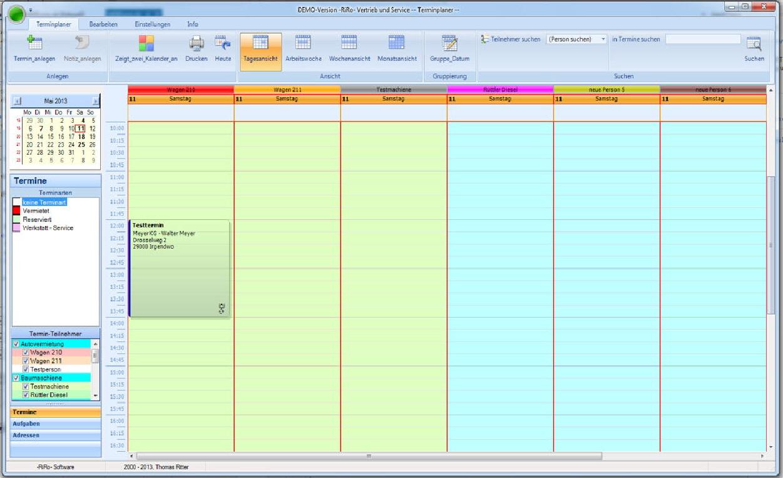 Termin- und Aufgabenplaner für das Netzwerk 9.6.0 Screenshot