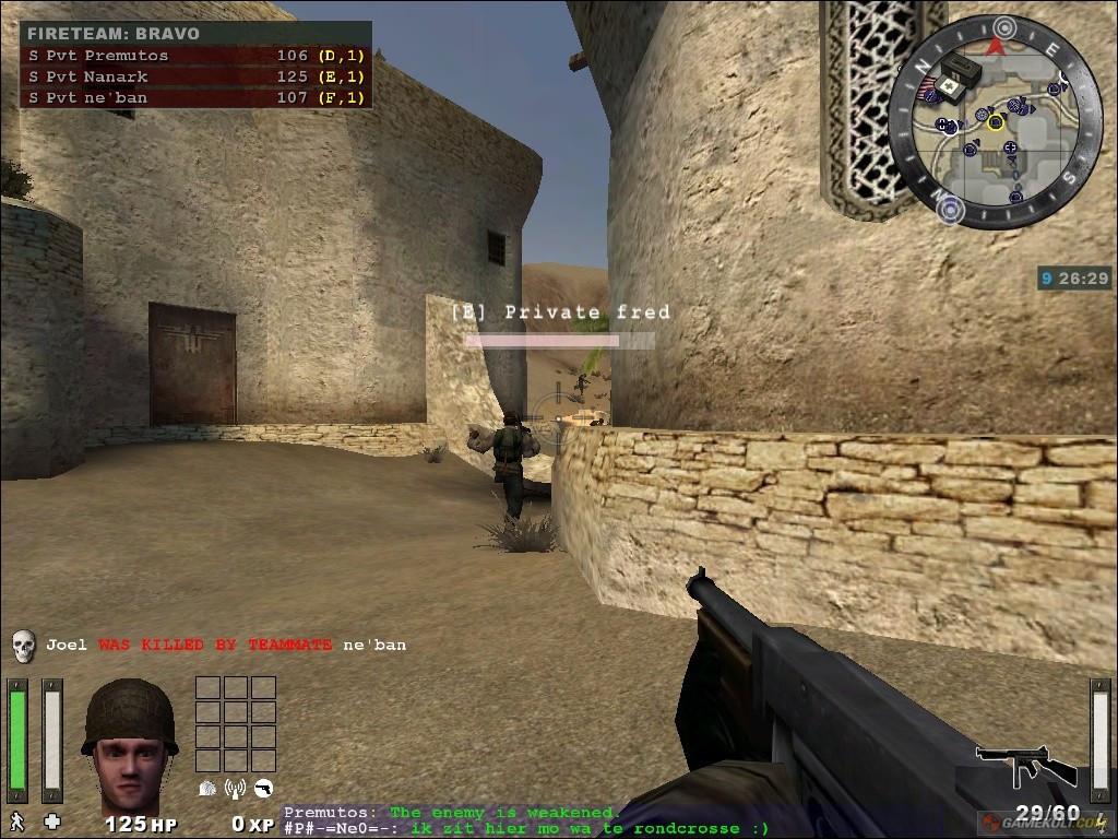 Wolfenstein - Enemy Territory Screenshot