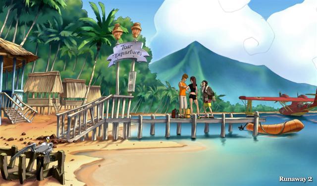 Runaway 2 - The Dream of the Turtle 1.0 Screenshot