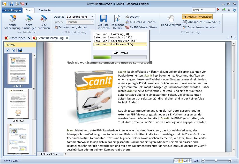 ScanIt - Standard-Edition Screenshot