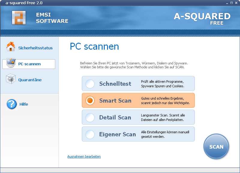 a-squared free 4.5.0.27 Screenshot