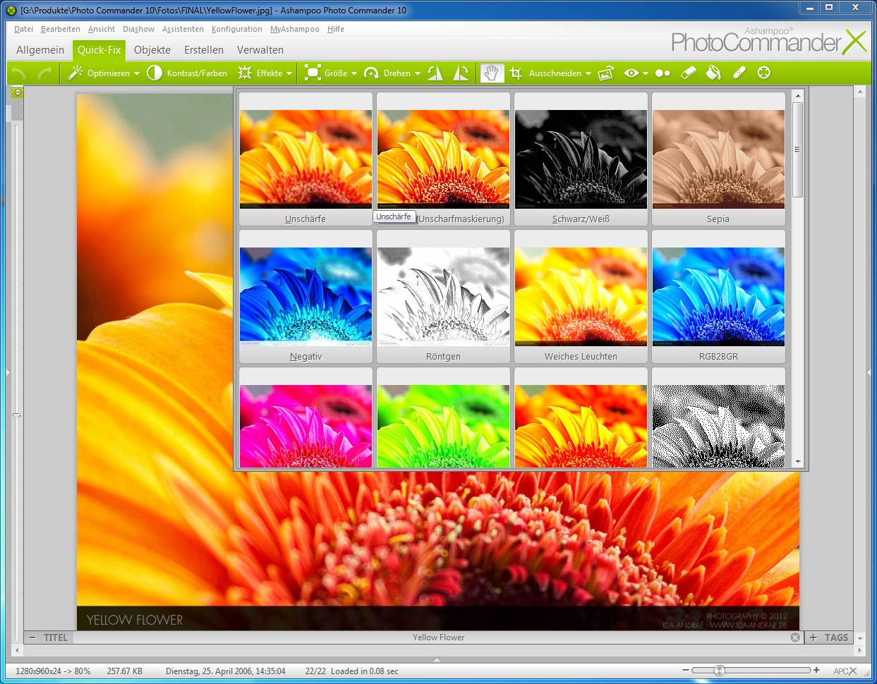 Ashampoo Photo Commander 10.2.1 Screenshot