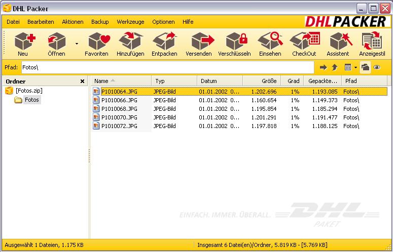 DHL Packer Screenshot