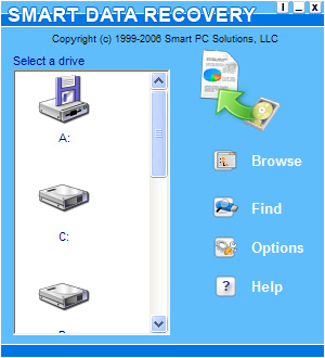 Smart Data Recovery 4.2.1 Screenshot