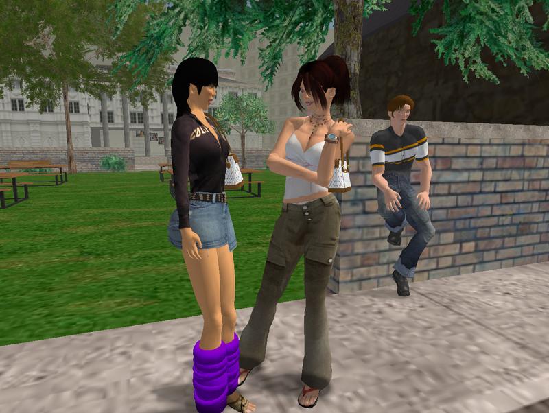 Second Life 3.2.1 Screenshot