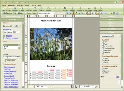SF Kalender 12.0 Screenshot