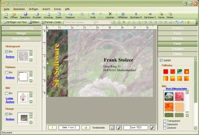 Sf Visitenkarte Download Shareware Deutsch Winsoftware De