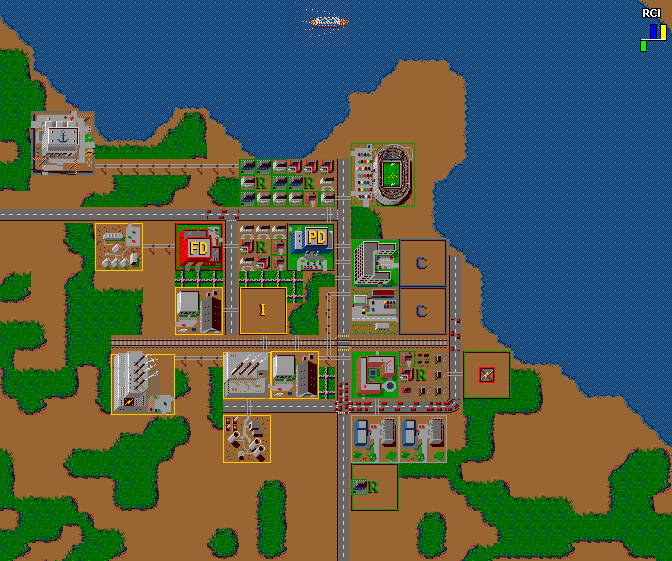 SimCity Classic 1.0 Screenshot