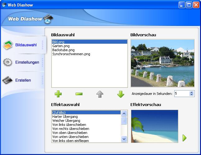 Web Diashow 3.3 Screenshot