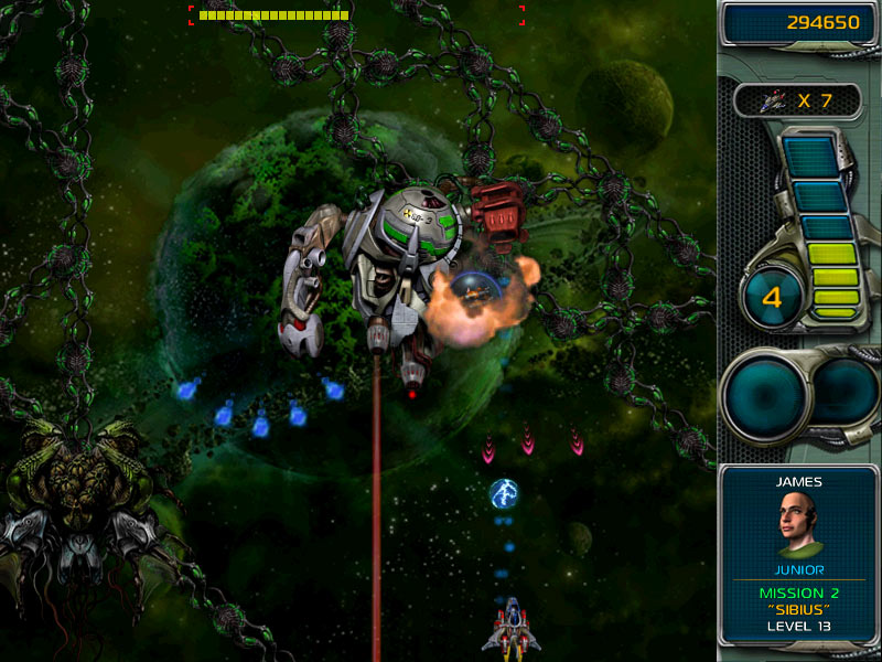 Star Defender 3 1.07 Screenshot