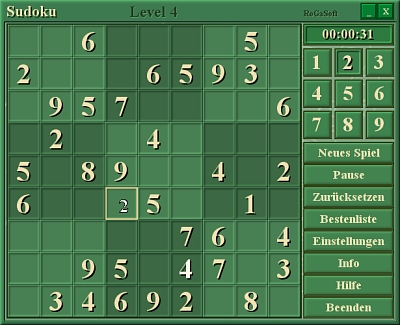 Avance Sudoku 2.0 Screenshot