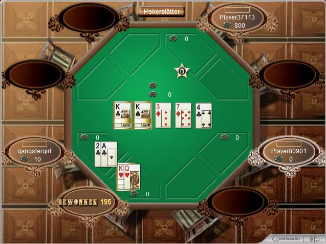 Texas Hold'em Flash Poker Screenshot