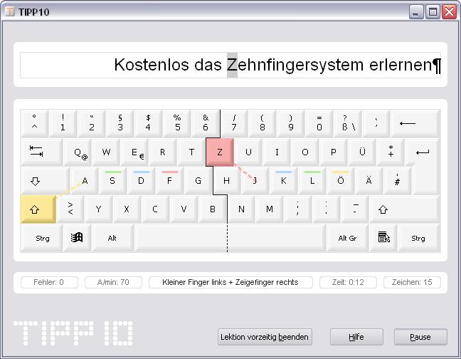 Tipp10 2.1.0 Screenshot