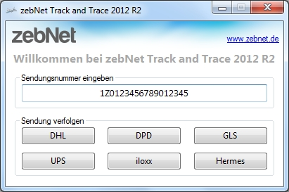 Track and Trace 5.0.0 Screenshot