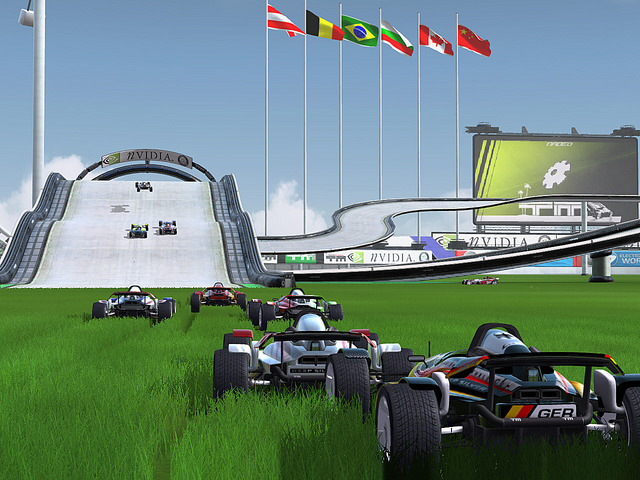 TrackMania Nations ESWC 0.1.7.5 Screenshot
