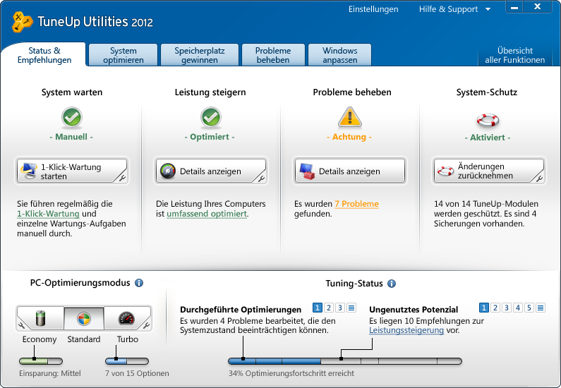 tuneup utilities 2011 vollversion