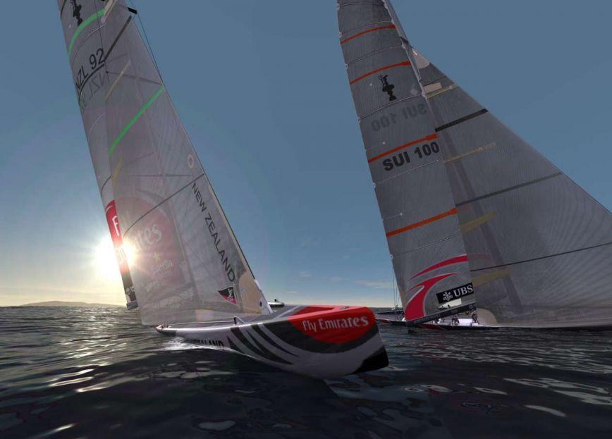Virtual Skipper 5: Americas Cup 32 1.0 Screenshot