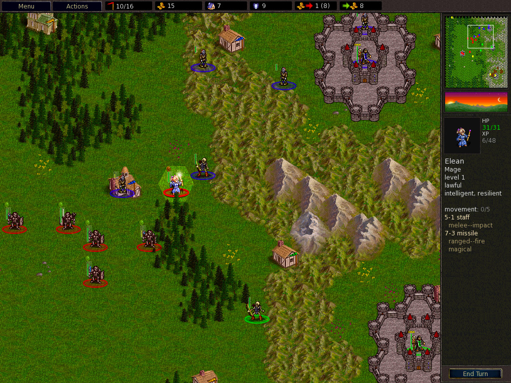 The Battle for Wesnoth 1.10.6 Screenshot
