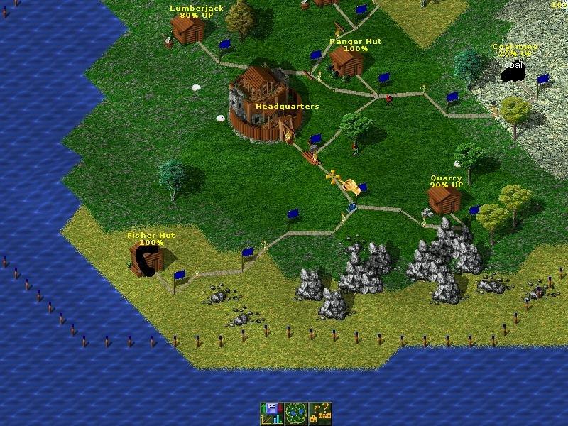 Widelands Screenshot