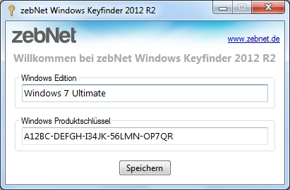 Windows Keyfinder 5.0.0 Screenshot