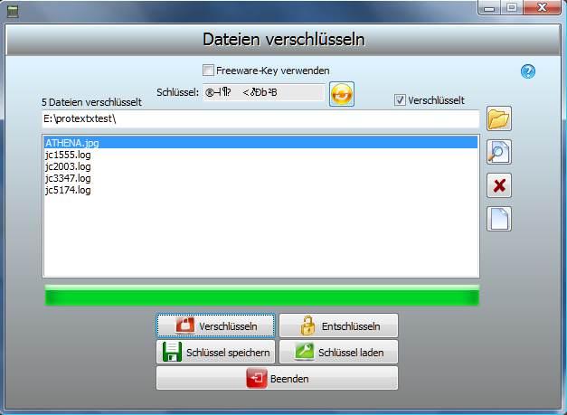 ProtectX 1.0 Screenshot